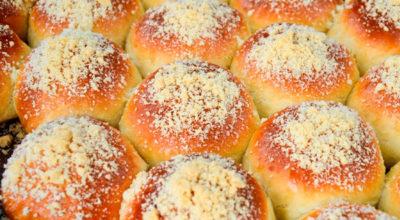 Потрясающие булочки со штрейзелем, которые долго не черствеют