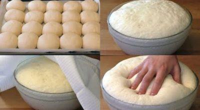 Дрожжевое тесто на воде без яиц: это простота, удобство и вкус в одном рецепте