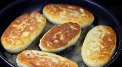 Быстрые аппетитные пирожки на кефире — готовятся моментально