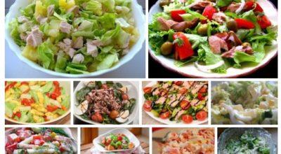 Лучшая десятка салатов для вкусного ужина