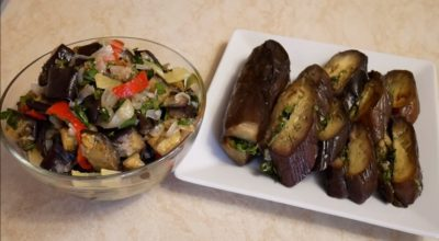 Две потрясающие закуски к любому столу: обалденные маринованные баклажаны