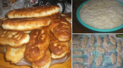 Элементарное тесто для пирожков за 15 минут
