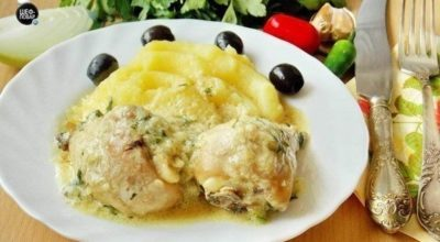 Гедлибже — блюдо очень простое, сытное и вкусное во многом благодаря изумительному соусу