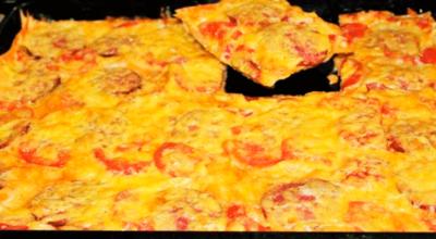 Гости обязательно будут в восторге — быстрая пицца из лаваша и никакой возни с тестом