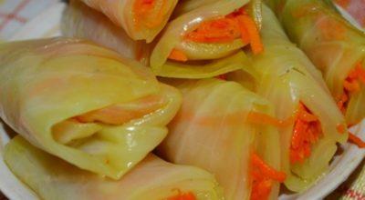 Как вкусно приготовить маринованные голубцы по-корейски