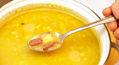 Как сварить вкусный и ароматный гороховый суп