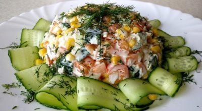 Легкие салаты: они заменят привычный ужин