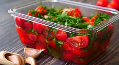 Обалденная закуска из помидоров: разлетается за секунду