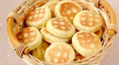 Очень простое и вкусное печенье на сковороде
