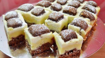 Обалденный пирог «Подушки» или «Стеганное одеяло»