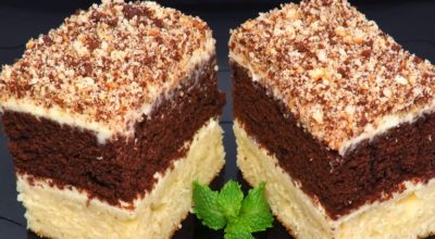Пирожное «Сметанник»: настоящий вкус детства из школьной столовой