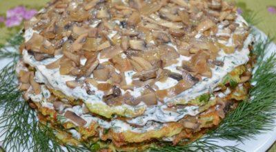 Невероятно вкусный торт из кабачков
