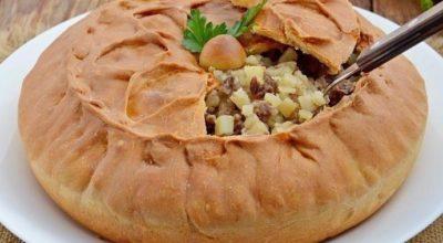 Потрясающий татарский пирог зур бэлиш