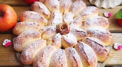 Очень изысканный пирог. Реально отрывной яблочный пирог «Королева Десертов»