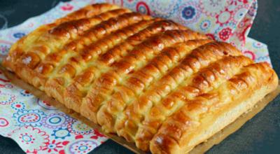 Аппетитные сдобные булочки-сайки с заварным кремом