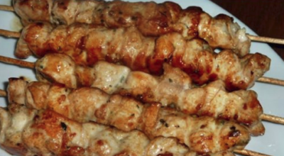 Шашлык в духовке из куриного филе