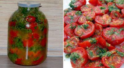 Экспресс рецепт помидоров по-корейски с морковью и перцем. Готовы уже на следующий день