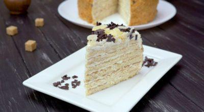 Сметанный торт на сковороде: даже духовку разогревать не придется