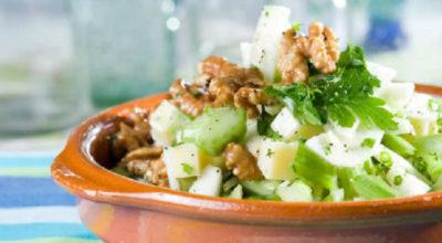 Топ- 4 салата с сельдереем. Очень полезно и очень вкусно
