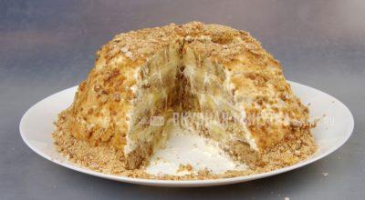 Обалденный торт БЕЗ ВЫПЕЧКИ за 10 минут и всего из трех ингредиентов