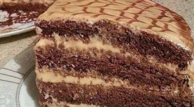 Торт Черный принц». Легкий и вкусный