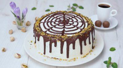 Торт из галетного печенья с заварным кремом: вкусный десерт без выпечки
