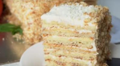 Обалденный торт «Молочная девочка» — готовим за 30 минут