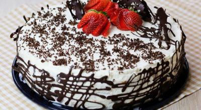 Торт «Шок». Готовится около 15 минут и пару часов на пропитку