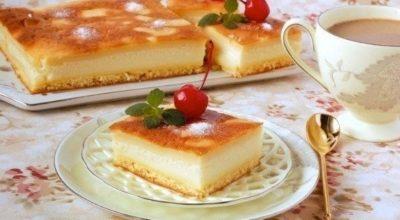 Очень вкусное «Умное» пирожное