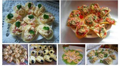 Необычная закуска на чипсах: 7 вариантов оригинальной начинки