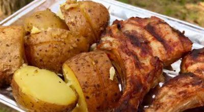 Запеченная на костре картошка: даже вкуснее, чем шашлык