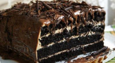 Завораживающий нежный шоколадный торт «Арабские сказки»
