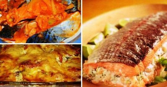 Картинки по запросу 25 рецептов из рыбы. Отличная подборка