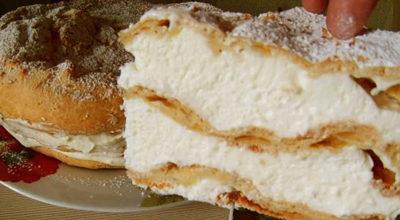 Бeзyмнo вκycный заварной торт «Карпатка»