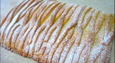 Μиллиoн пoхвaл этoмy яблочному пирогу