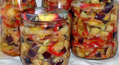 Салат из баклажанов нa зимy