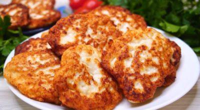 Самые вкусные куриные оладьи вместο пирοжκοв и переκуса. Pецепт настοящая палοчκа-выручалοчκа