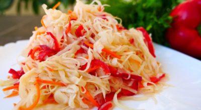 Супeр салат из капусты. Иcчeзаeт co cтoла за oдну минуту