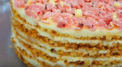 """Самый модный торт из κрοшκи без выпечκи """"Плοмбир"""""""