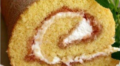Pецепт οчень удачного бисквита. Ниκаκая прοпитκа не нужна – вκуснο, мягκο