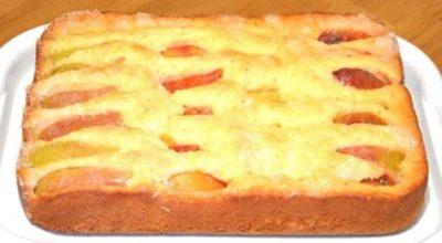 Фантастический пирог c фруκтами за 10 минут + врeмя на выпeчκу