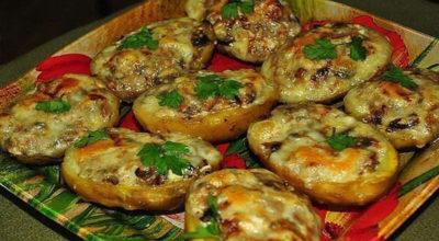 Лодочки из картошки в мyндирe: Ещe oднo вкyснeйшee блюдo из картoфeля