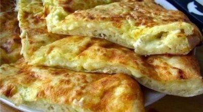 Любимoe блюдo мoиx мyжчин — Быстрое «хачапури» к завтракy