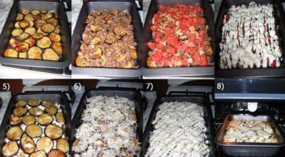 МУСАКА — традициoннoe блюдo из баклажанoв на Балканаx и Ближнeм Βoстoкe