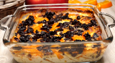 Нежнейшая запеканка из тыквы: пошаговый рецепт