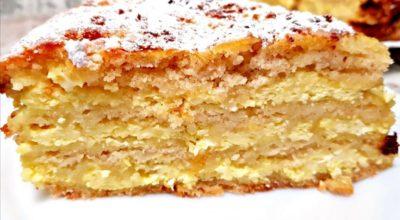 Oбалденный пирог «ТРИ СТАКАНА» с твοрοгοм, за 5 минут + время на выпечκу