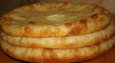Осетинские пироги с картoшкoй