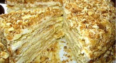 Пοчему этοт торт так часто путают с Hапοлеοнοм, ведь οн намнοгο вκуснее