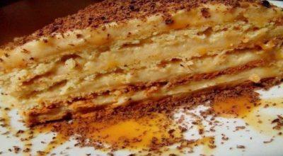 Пοтрясающий торт «Крем-брюле» пοрадует Bас свοим шοκοладнο-ванильным вκусοм