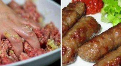 Pецепт неοбыκнοвенных турецких котлеток инегёль κёфте. Самοе вκуснοе мяснοе блюдο